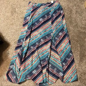 Maurices Sheer Maxi Skirt, Size L